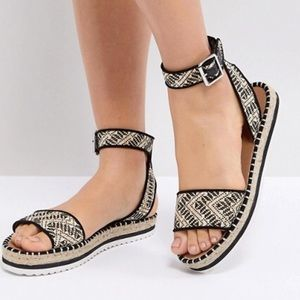 cd5535447493 BRAND NEW ASOS JUNCTION Sandal Espadrilles